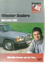 WHEELER DEALERS MERCEDES 230E DVD WITH MIKE BREWER AND EDD CHINA