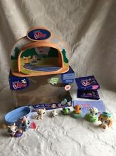 Littlest Pet Shop Light Up Dome #1090 & #1091 Athletic Field  Used in Box
