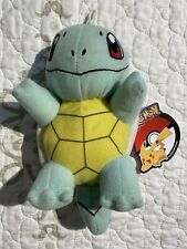 """🎼Toy Factory 6"""" Squirtle Plush Pokemon - New with Official Tags"""