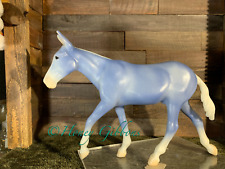 Breyer Model Horse Mule Decorator Matte Wedgewood  CM=)