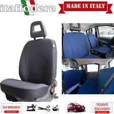 FODERE COPRISEDILI Fiat Panda 2003>2011 [4 POSTI] !SU MISURA! COMPLETE Nero 38