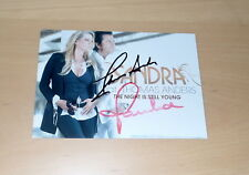 Thomas Anders & Sandra, original signed Photo/Card in 13x18 cm