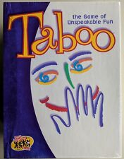 Taboo The Game of Unspeakable Fun Adult Party Game 2000 By Hasbro~New & Sealed