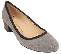 Isaac Mizrahi  Menswear Print slip low heel Pumps Kerry pick size color new