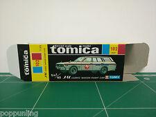 REPRODUCTION BOX for Tomica Black Box No.102 JAL Cedric Wagon Ramp Car