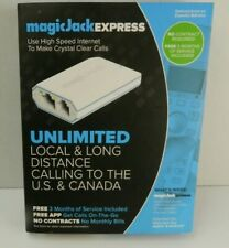 MagicJack EXPRESS Digital Phone VoIP Service Includes 3 Months of Service NEW