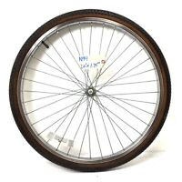 "26"" Front Chrome Bicycle Wheel with 1.75"" Tire Mountain Cruiser Bike N94"