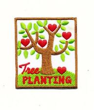 Girl Boy Cub TREE PLANTING arbor day Fun Patches Crests Badges SCOUTS GUIDE leaf