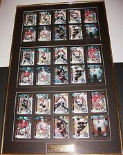 1998-99 Framed Ice Galaxy Insert Set Framed Silver GOLD