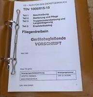 Org. BW Vorschrift/TDv für MG3 Fliegerdreibein
