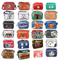 Shoulder Messenger School Bag - Star Wars, Harry Potter, Batman, Superman, Retro
