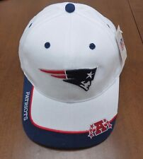 **OFFICIAL NFL** New England Patriots Strapback Hat 100% Cotton NWT