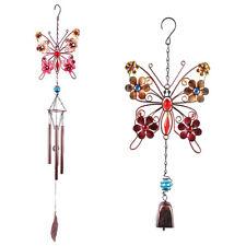 Butterfly Wind Chimes Deep Tone Grace Elegant for Garden Balcony Indoor Outdoor