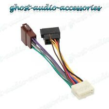 Clarion 16 PIN Car Stereo Radio ISO Wiring Harness Connector Adaptor Loom Cable