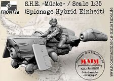 S.H.E. ~ macke ~/échelle 1/35 résine modèle kit (Spionage hybride einheit)