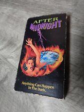 After Midnight VHS Horror 1990 Halloween CBS Fox Video