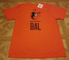 Under Armour Baltimore Orioles T-Shirt MLB Men's Orange/Black Brand New