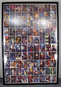 Topps 1996 Star Wars Shadow of Empire Uncut Flat 90-Card Sheet PO# D-98868 27x40