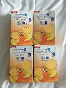 4 x lighterlife Mango And Passion Fruit Shake