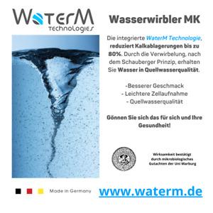 Wasserwirbler / Strahlregler für den Wasserhahn / energetisieren / Schauberger /