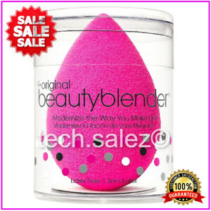 New Original Beauty Blender In Pink Classic Make Up Sponge Foundation Wedge Puff