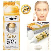 Balea Q10 Anti-Wrinkle Eye Cream Anti-Falten Augencreme Omega Complex 15 ml New