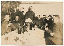 Foto - Offiziere Abschiedsfeier evtl. Luftschiffer - 1.WK