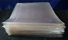 40 X USED LASERDISC PROTECTIVE SLEEVES thick flap-style hard plastic videophile