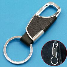 Fashion Mens Metal Leather Car Keyring Keychain Key Chain Ring Keyfob Creative Fits Kia Soul