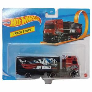 Mattel - Hot Wheels Die-Cast Vehicle - Track Stars - MERCEDES-BENZ ACTROS (Semi)