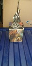 Myths And Legends Figure Wizard Crystal Ball Fantasy Statue Collectable unusual