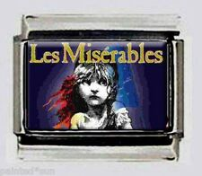 Les Mis miserables musical photo 9mm Italian Charms for modular style bracelets
