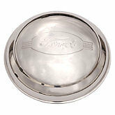 1942 Ford passenger car  1946 pickup Stainless steel Hubcaps set of 4