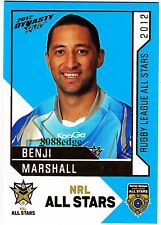 2012 SELECT DYNASTY NRL ALL STARS #AS26: BENJI MARSHALL - WESTS TIGERS