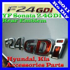 Rear Trunk Genuine F24GDI Emblem Badge For 11 12 13 2014 Hyundai Sonata