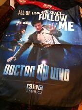 DR WHO SDCC BBC America  SWAG BAG,Matt Smith,Karen Gillan,promo,BEING HUMAN 2011