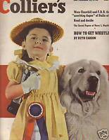 1948 Colliers September 11-Great Pyranees Dog; Baugh