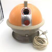 Orange Hoover Constellation Vintage, Mid-century Modern Vacuum Cleaner - BASE