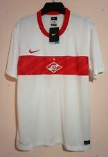 SPARTAK MOSCOW FOOTBALL CLUB 2011 RARE BRAND NEW WHITE AWAY SHIRT NIKE XL RUSSIA