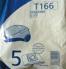 MENALUX T166 - 5 sacs aspirateur PANASONIC MC 3300G MC 3300R MC 33.10