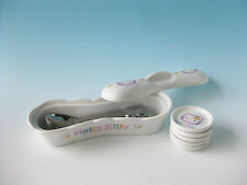 HELLO KITTY Porcelain Spoon Rest Case Face Spoon SANRIO Japan Kawaii