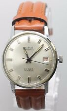 Vintage Original Men's Nisus Automatic Wind 25 Rubis Wrist Watch Running