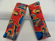 Seat Belt Covers BATMAN RED Child Car Seat Highchair Stroller Pram Capsule