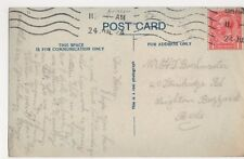 Mr. Harry Buckmaster, 20 Stanbridge Road Leighton Buzzard 1924 Postcard, B180