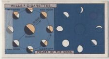 Moon Phases Solar System Telescope Astronomy  c90 Y/O Trade Ad Card