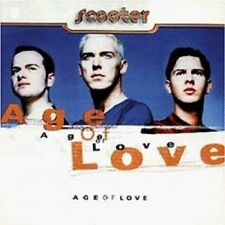 "SCOOTER ""AGE OF LOVE"" CD NEU 11 TRACKS DISCO/DANCE"