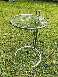 Eileen Gray Table Chrome