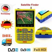 Neu Satlink Freesat V8 Camping Satfinder HD DVB-S+DVB-S2 CVBS SAT Messgerät DHL