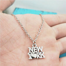 Love New york silver Necklace pendants fashion jewelry accessory,creative Gifts