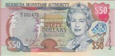 Bermuda Banknote P. 54 50 Dollars 2000, UNC WE COMBINE